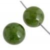 Jade (Canadian) 10mm Round 17pcs Approx